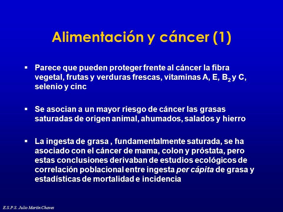 Alimentación y cáncer (1)