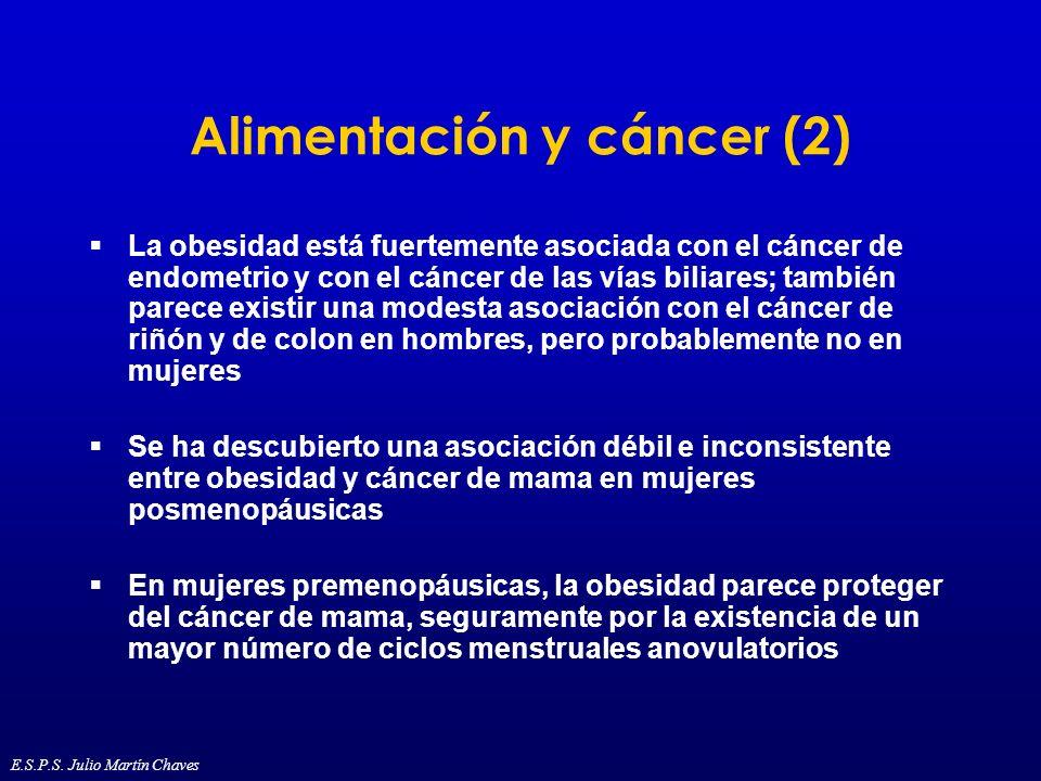 Alimentación y cáncer (2)