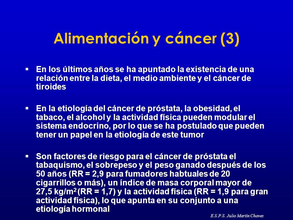 Alimentación y cáncer (3)