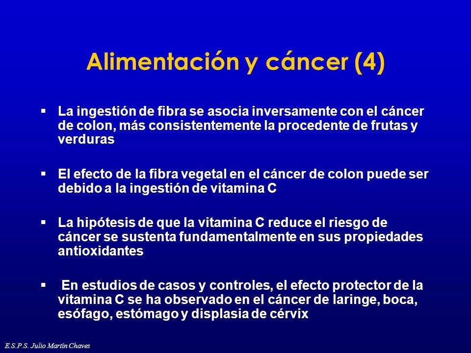 Alimentación y cáncer (4)
