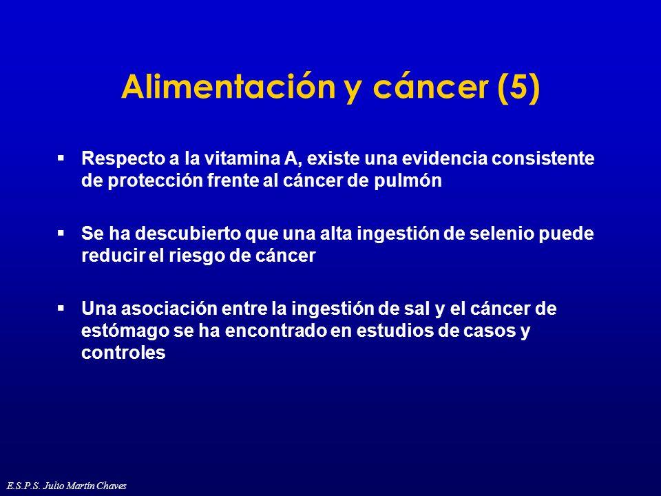 Alimentación y cáncer (5)