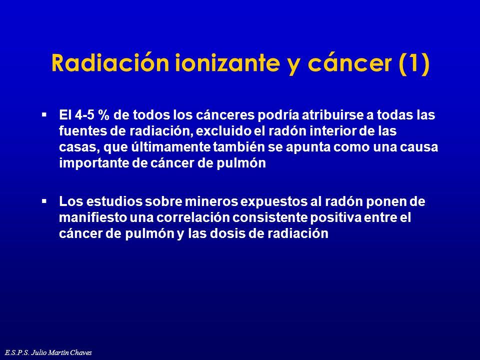 Radiación ionizante y cáncer (1)