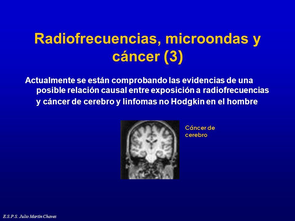 Radiofrecuencias, microondas y cáncer (3)