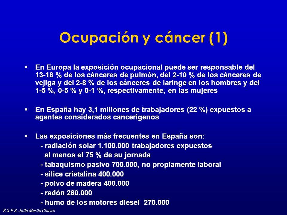 Ocupación y cáncer (1)