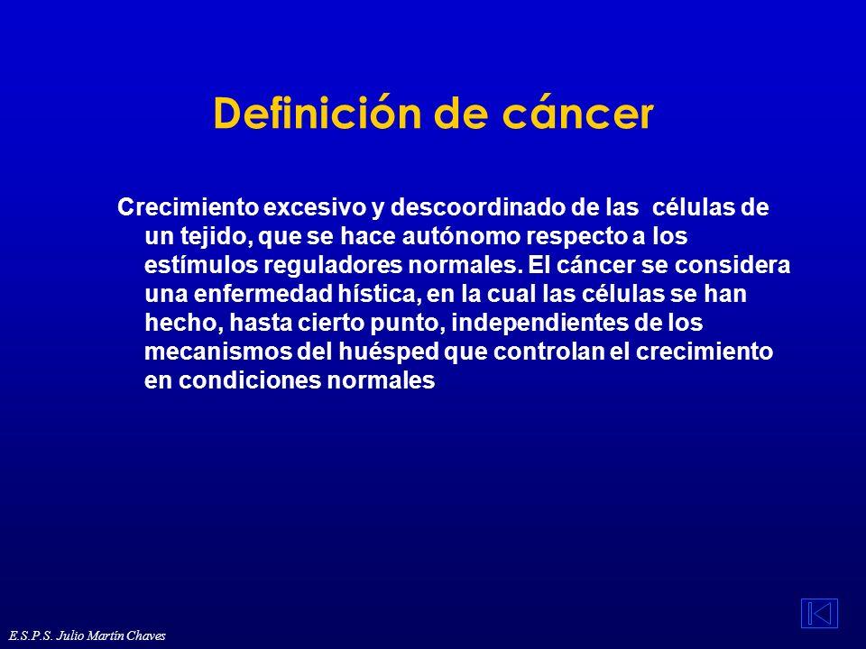 Definición de cáncer