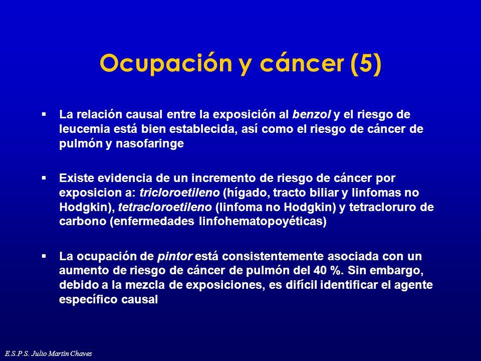 Ocupación y cáncer (5)