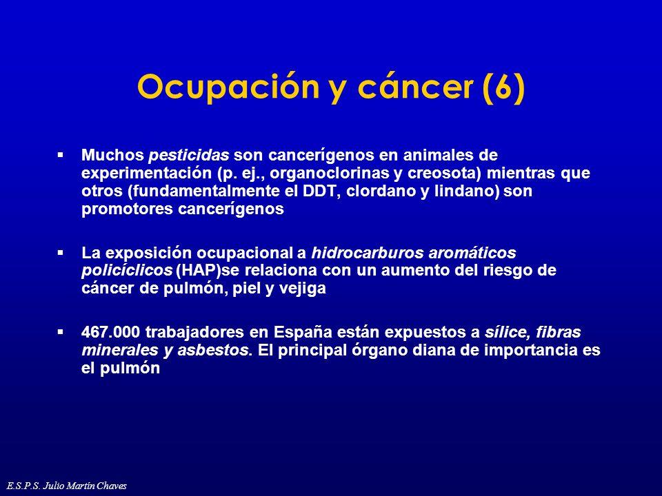 Ocupación y cáncer (6)