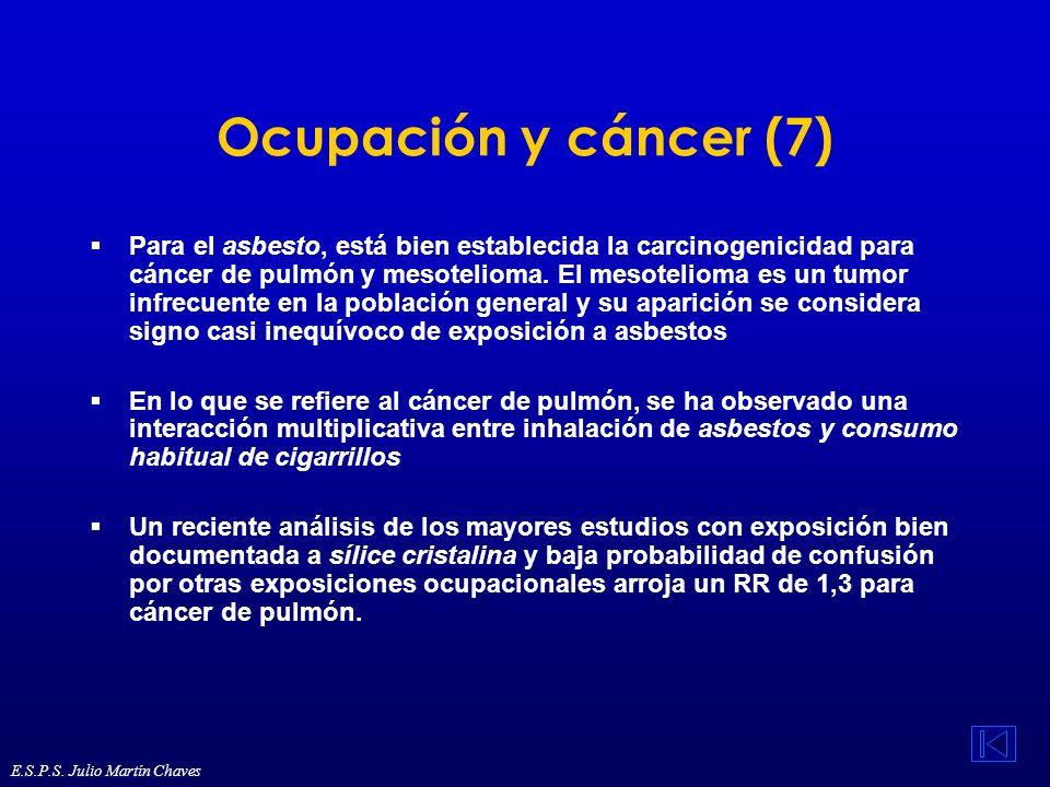 Ocupación y cáncer (7)
