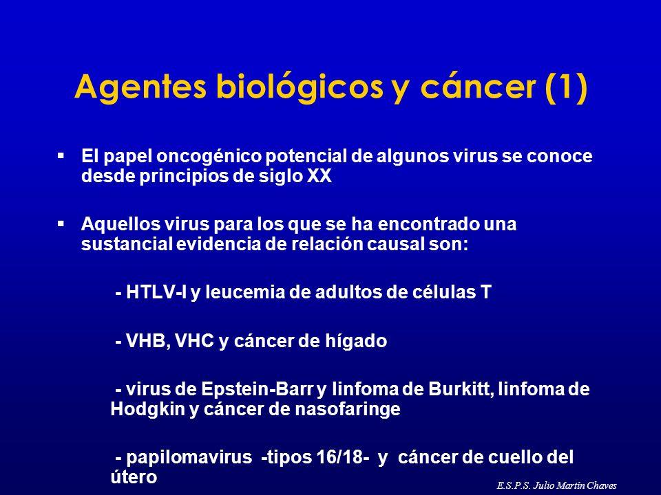 Agentes biológicos y cáncer (1)