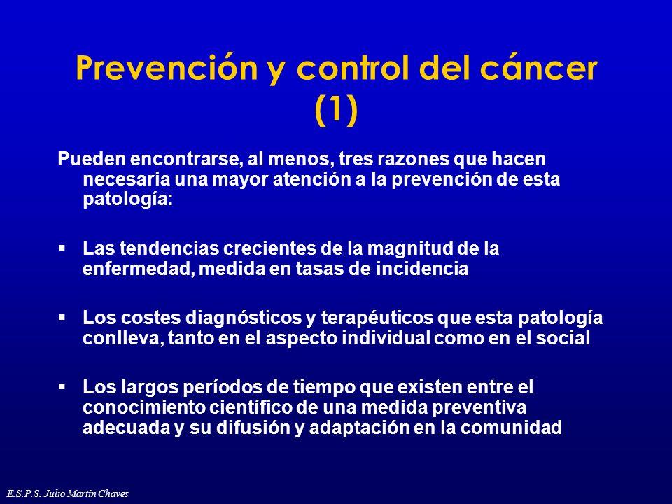 Prevención y control del cáncer (1)