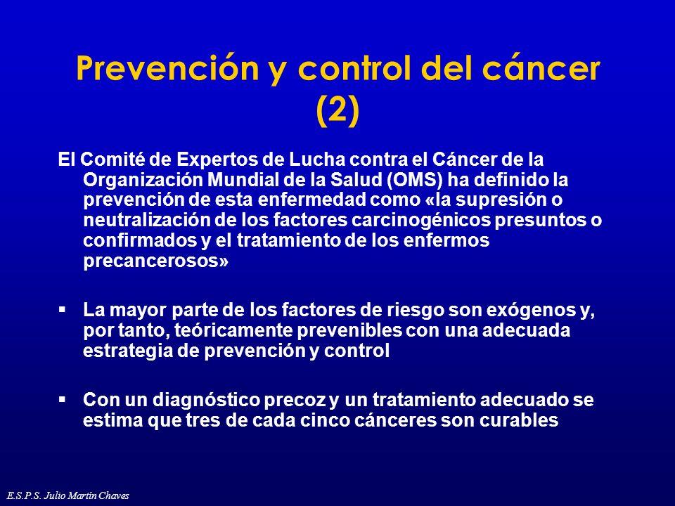 Prevención y control del cáncer (2)