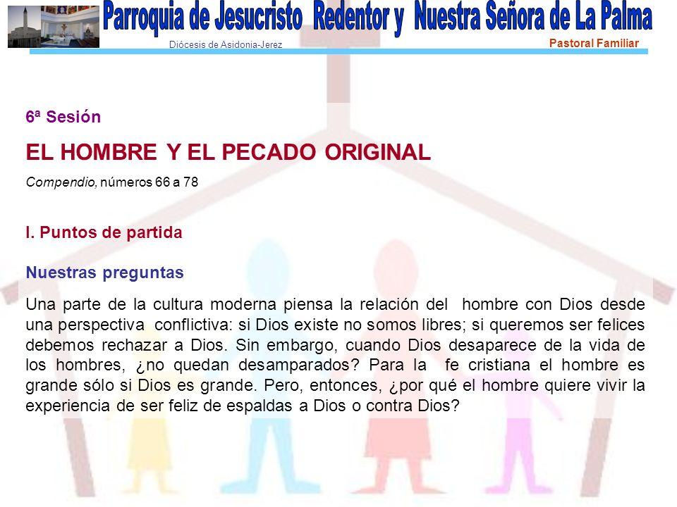 EL HOMBRE Y EL PECADO ORIGINAL