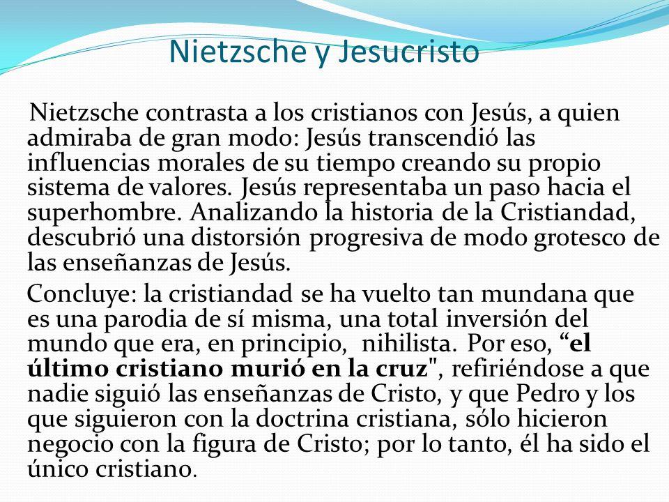 Nietzsche y Jesucristo