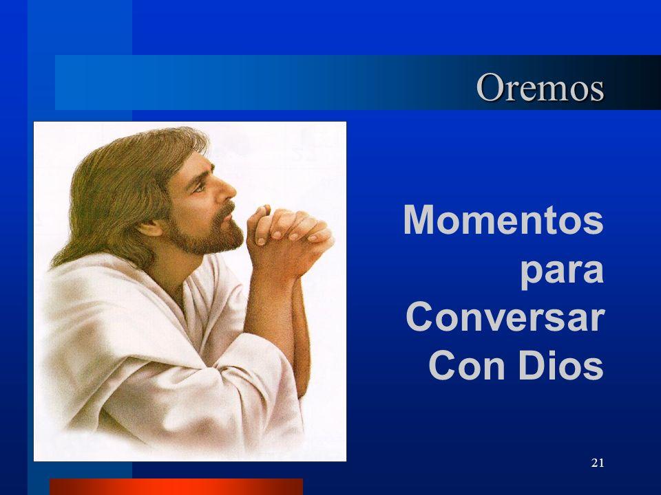 Oremos Momentos para Conversar Con Dios