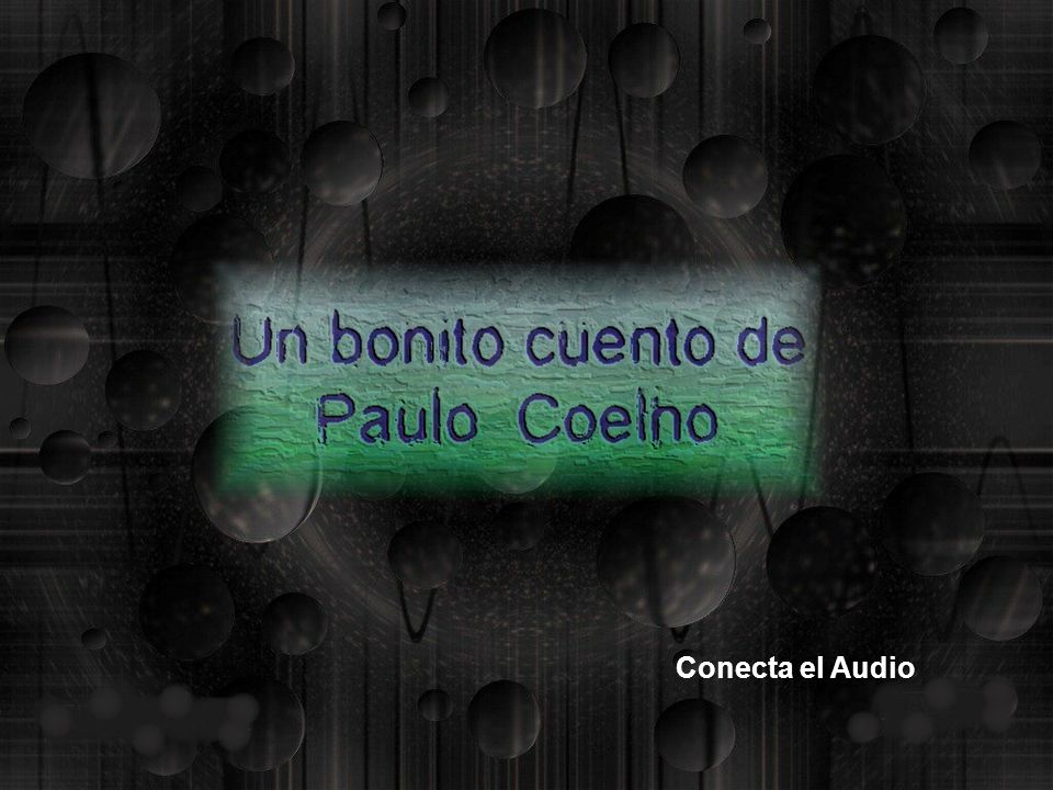 Conecta el Audio
