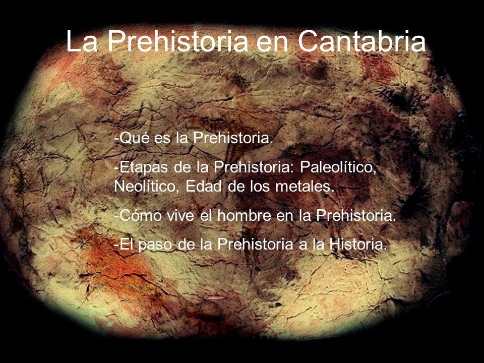 La Prehistoria en Cantabria