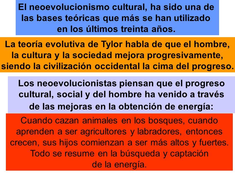 El neoevolucionismo cultural, ha sido una de
