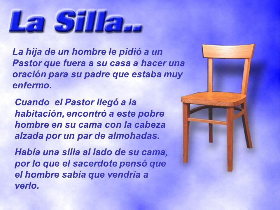 La hija de un hombre le pidió a un Pastor que fuera a su casa a hacer una oración para su padre que estaba muy enfermo.