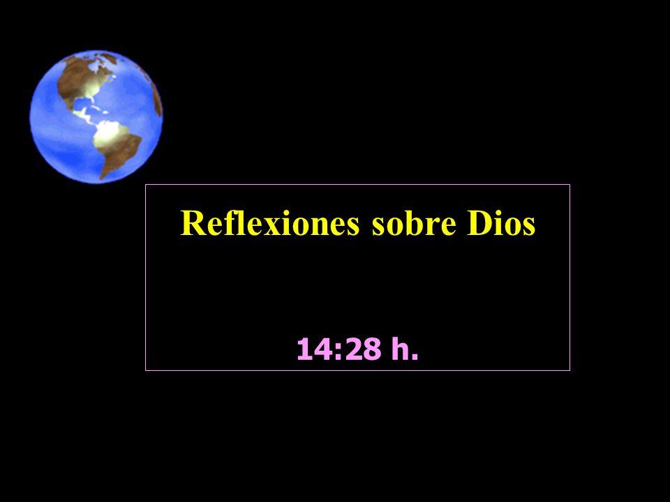 Reflexiones sobre Dios