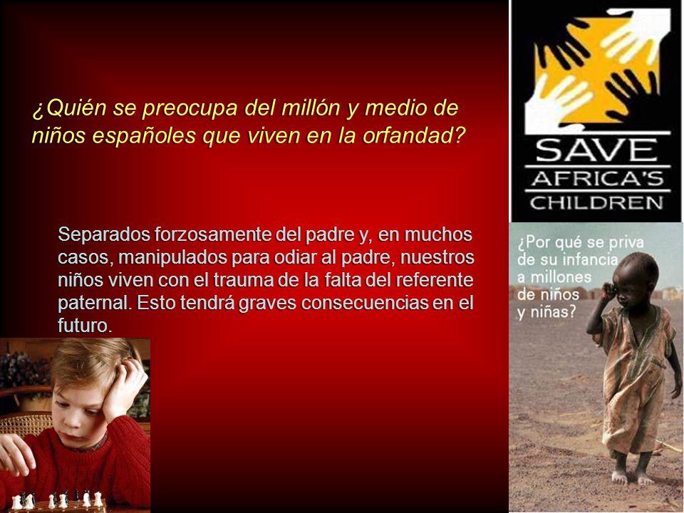 ¿Quién se preocupa del millón y medio de niños españoles que viven en la orfandad