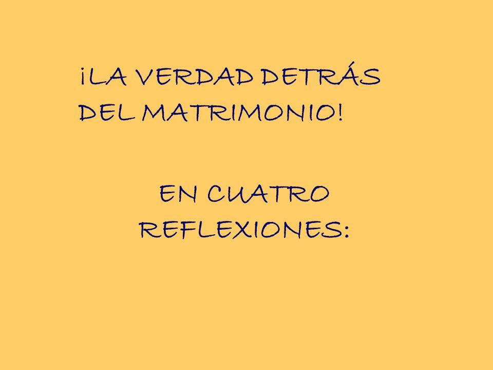 EN CUATRO REFLEXIONES: