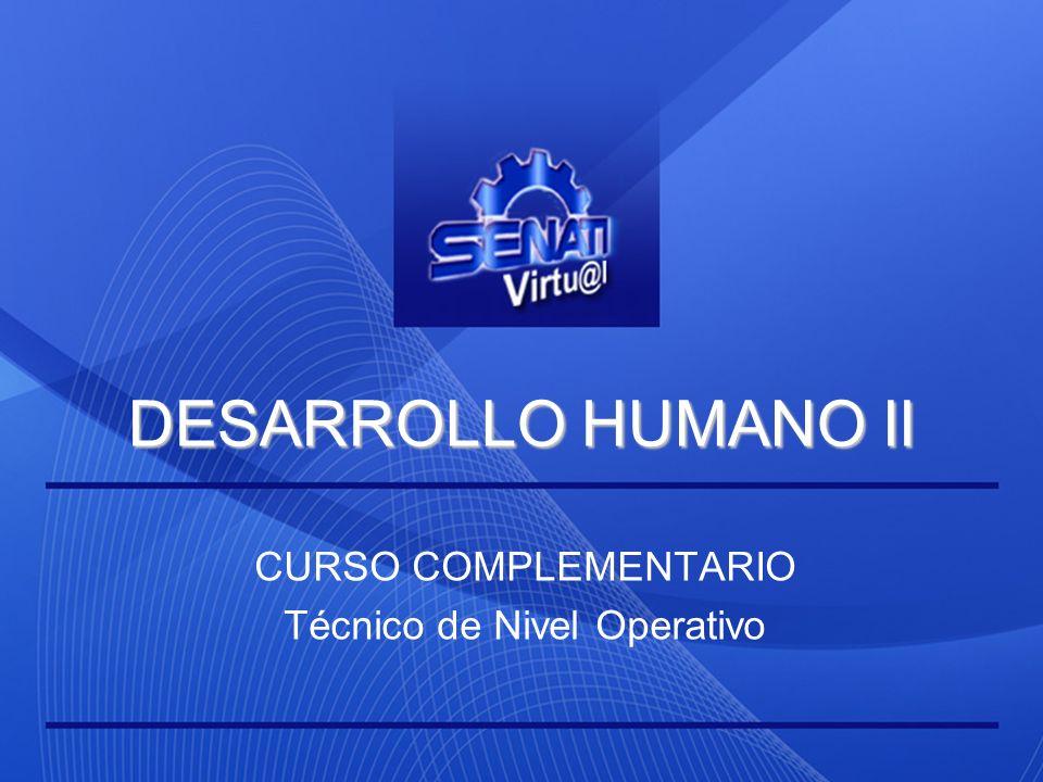 CURSO COMPLEMENTARIO Técnico de Nivel Operativo