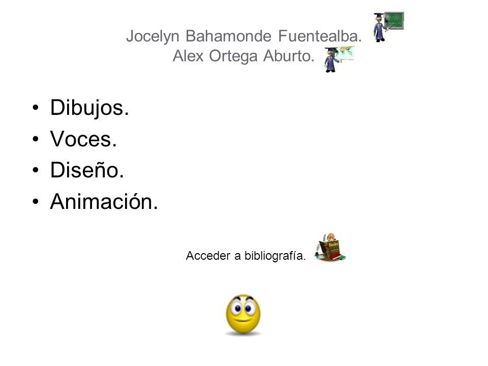 Jocelyn Bahamonde Fuentealba. Alex Ortega Aburto.