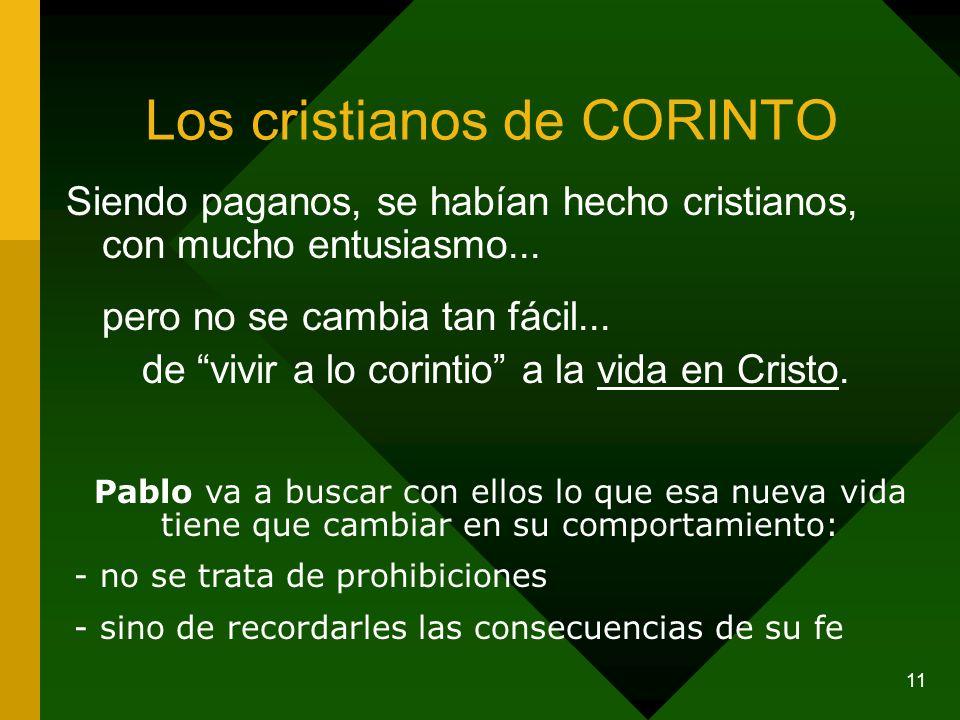 Los cristianos de CORINTO