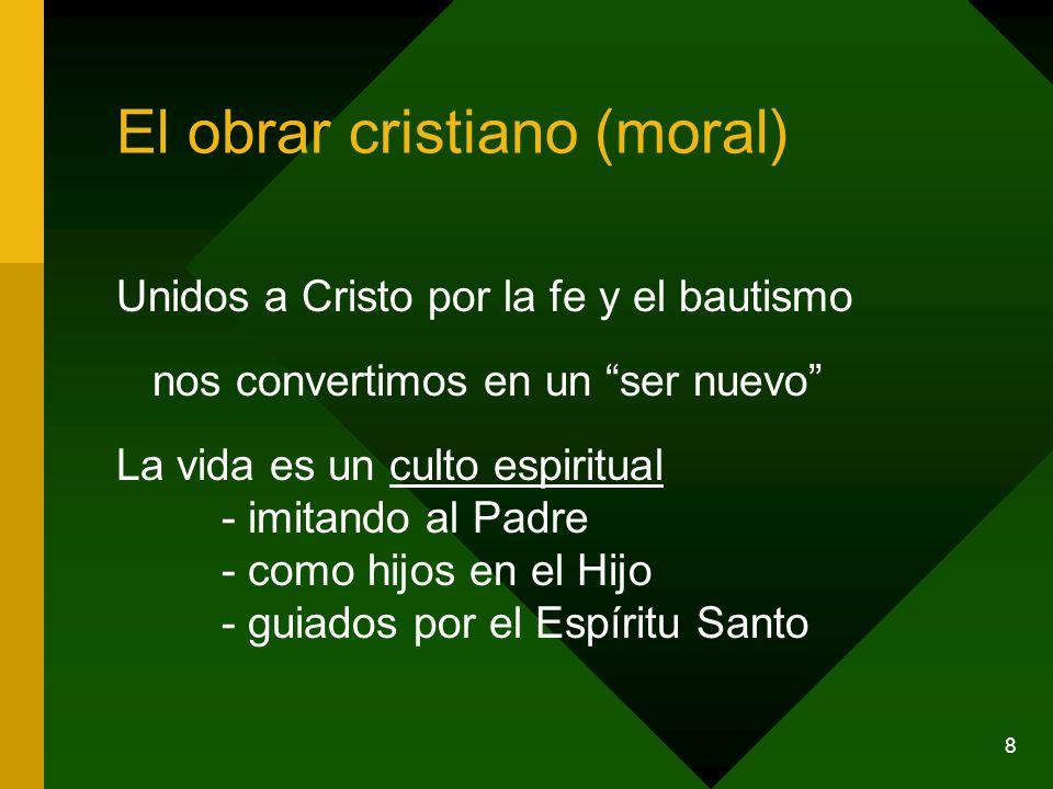 El obrar cristiano (moral)