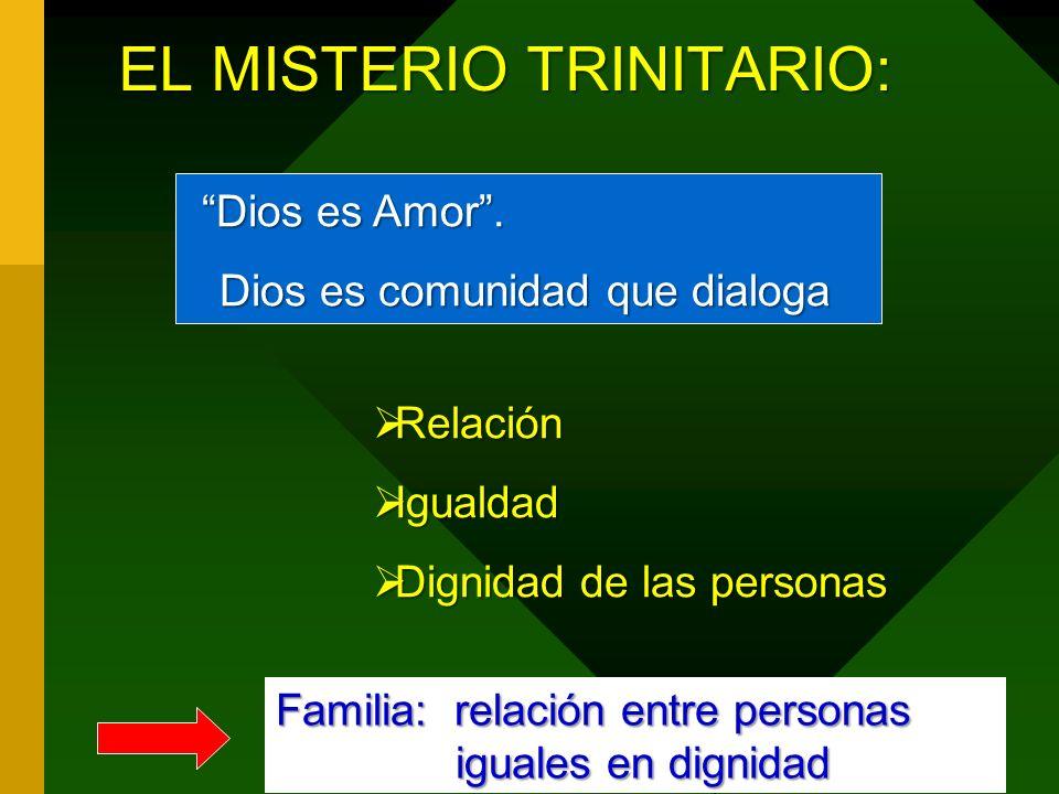 EL MISTERIO TRINITARIO: