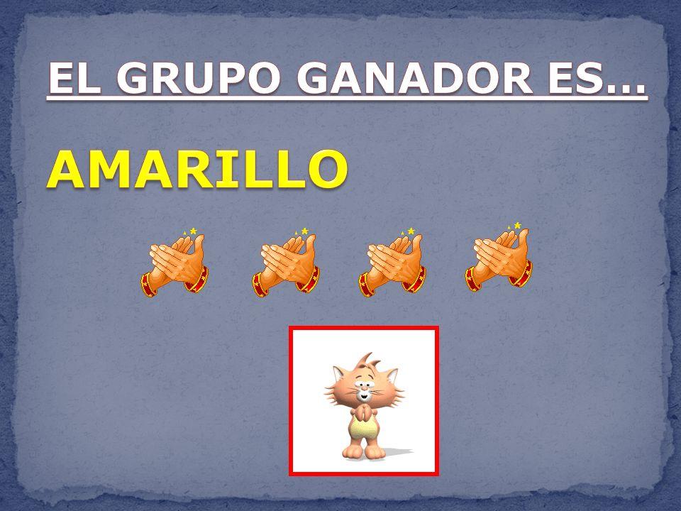 EL GRUPO GANADOR ES… AMARILLO