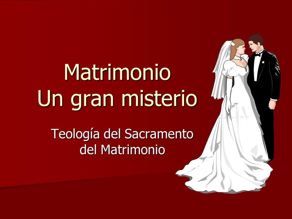 Matrimonio Un gran misterio