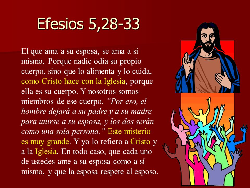 Efesios 5,28-33