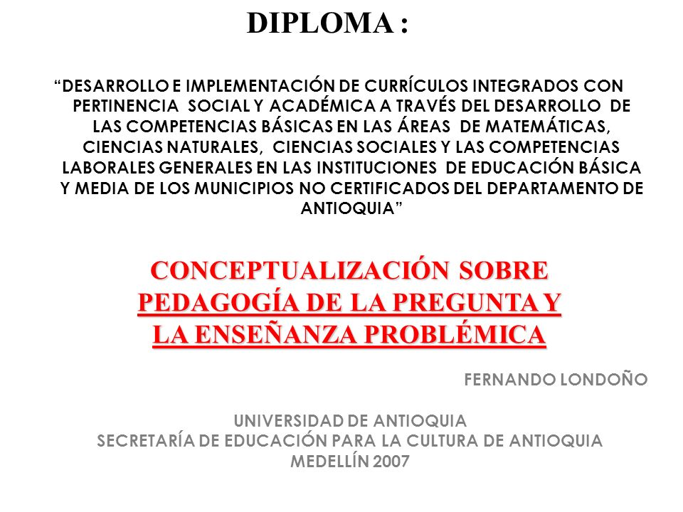 DIPLOMA :
