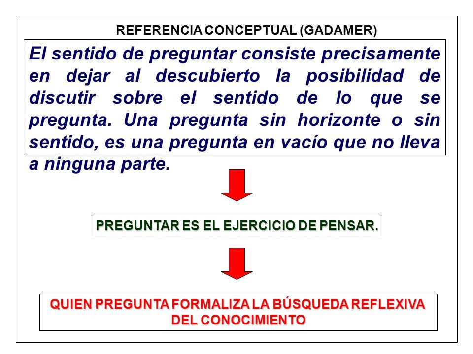 REFERENCIA CONCEPTUAL (GADAMER)