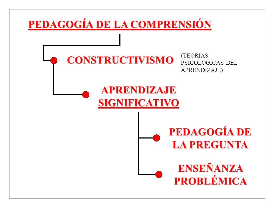 PEDAGOGÍA DE LA COMPRENSIÓN