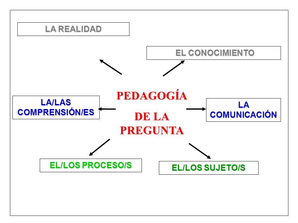 LA/LAS COMPRENSIÓN/ES