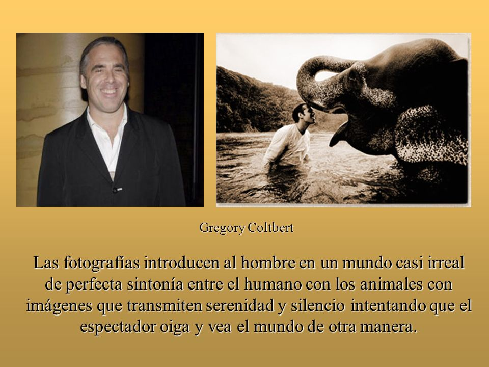 Gregory Coltbert