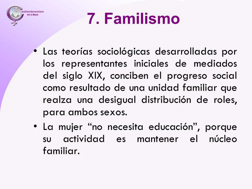 7. Familismo
