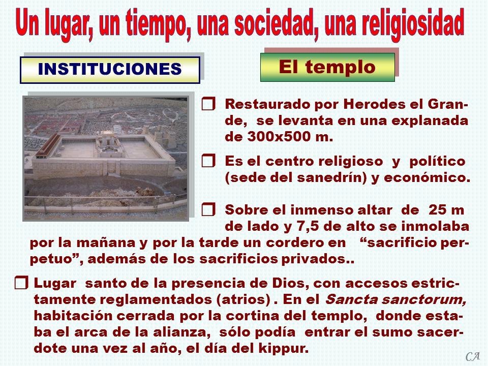 Un lugar, un tiempo, una sociedad, una religiosidad