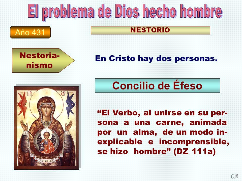El problema de Dios hecho hombre