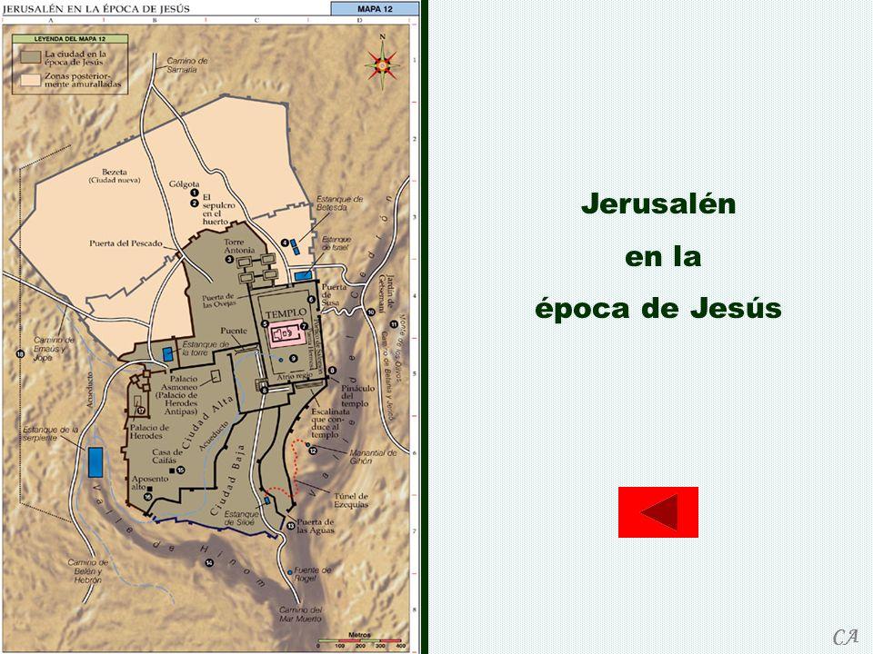Jerusalén en la época de Jesús CA