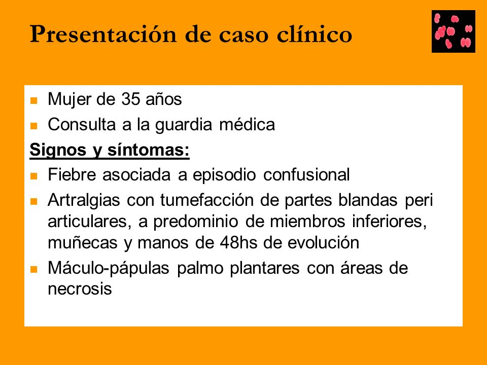 Presentación de caso clínico