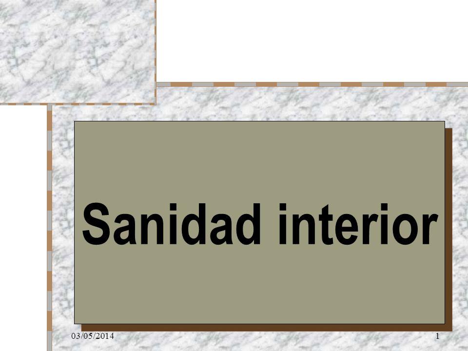 Sanidad interior 29/03/2017