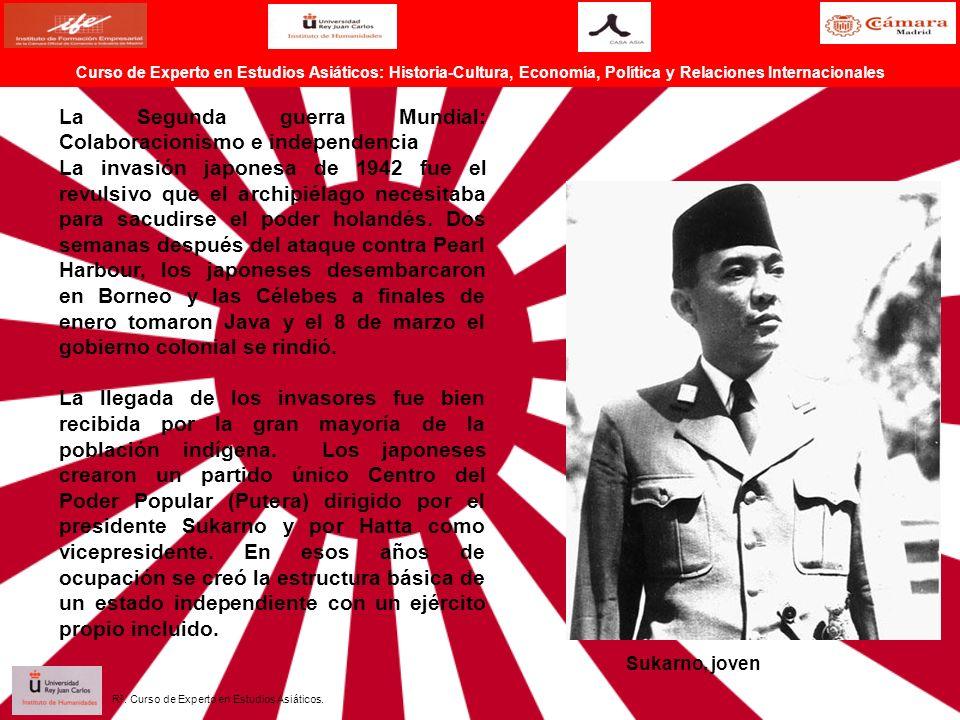 La Segunda guerra Mundial: Colaboracionismo e independencia