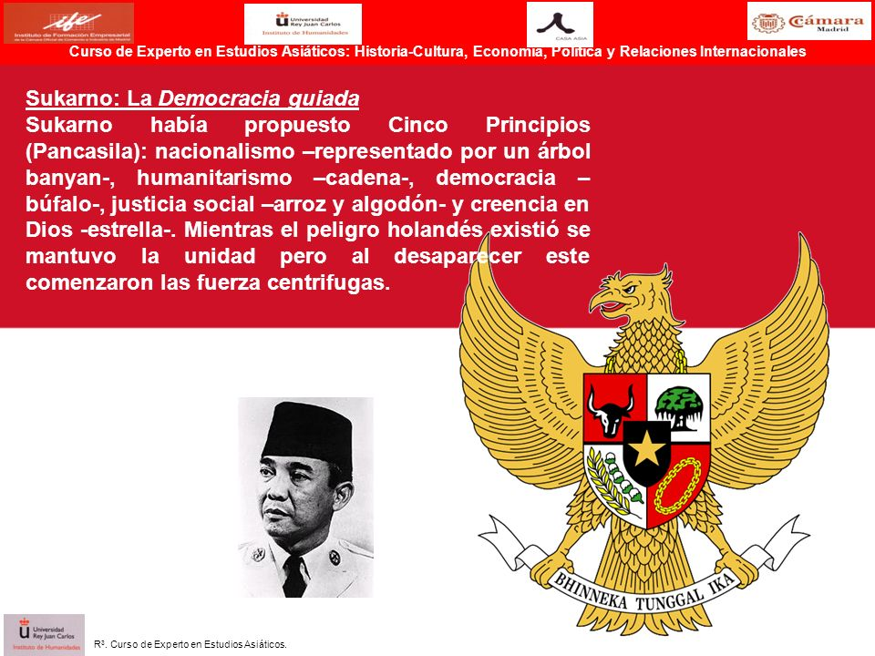 Sukarno: La Democracia guiada