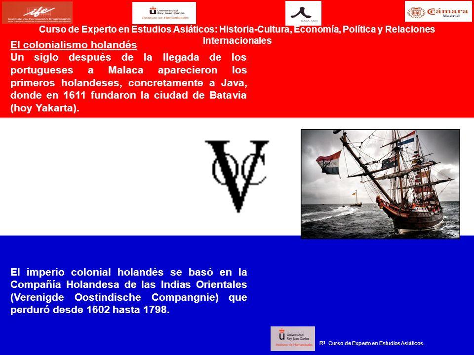 El colonialismo holandés