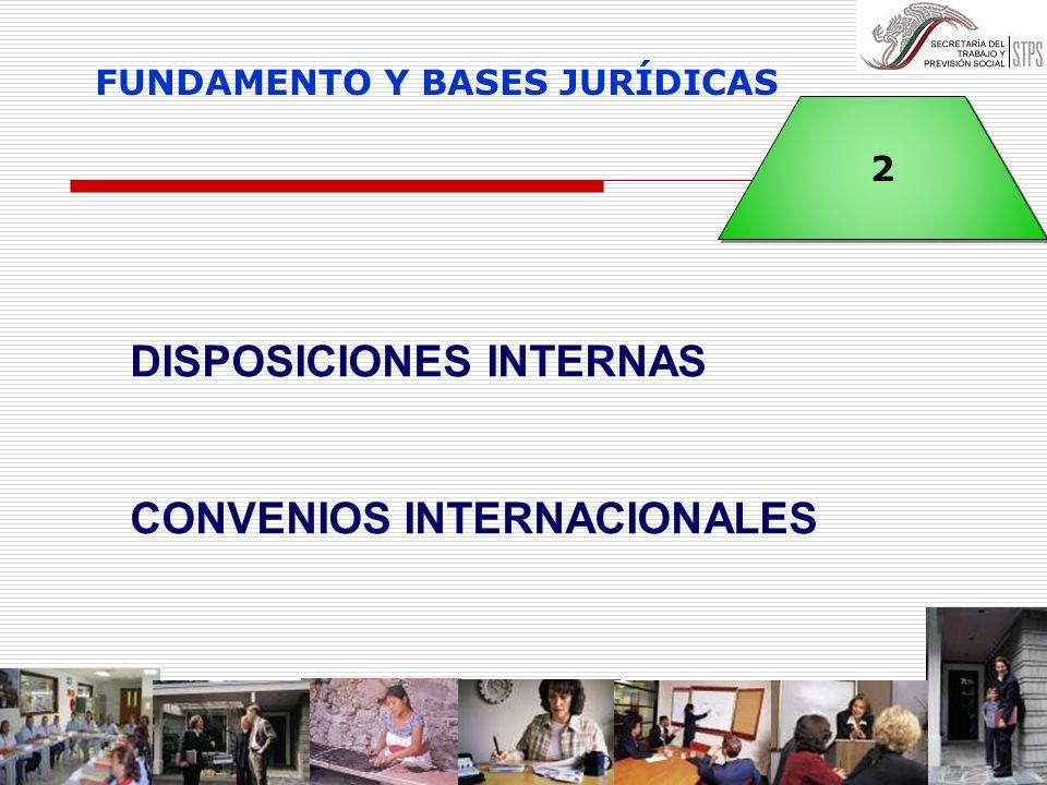 FUNDAMENTO Y BASES JURÍDICAS
