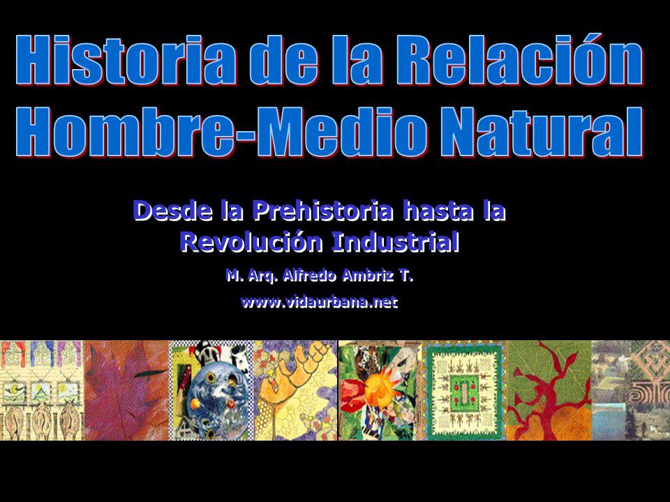 Desde la Prehistoria hasta la Revolución Industrial