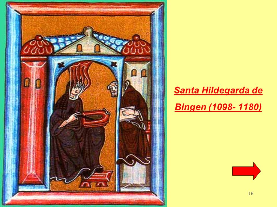 Santa Hildegarda de Bingen (1098- 1180)